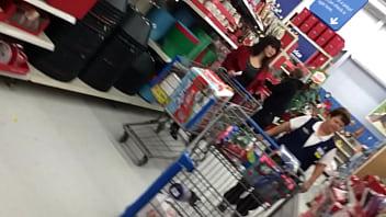 #1 Candid mom shopping