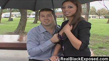RealBlackExposed - Black Babe Swallows a Long Rod