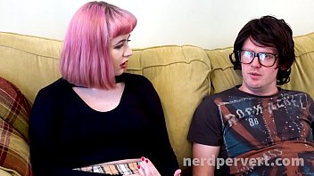 Caitlyn Smith Sucking Nerdy Cock