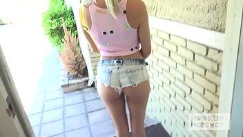 Teen Blonde Chloe gets destroyed by guy she met on dating site online