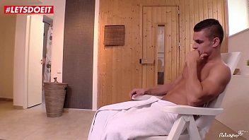LETSDOEIT - Horny Brunette Loves Fucking Strangers in the Sauna