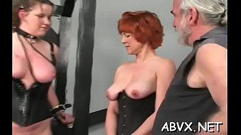 Top notch amateur bondage sex scenes with valuable beauty