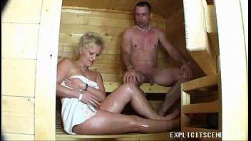 Milf Sauna Creampie