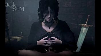 Demon's Souls Maiden In Black Deleted Cutscene SFM