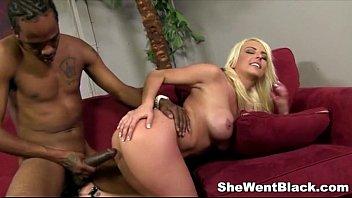 Blonde Babe Kali Kavalli gets Interracial Sex