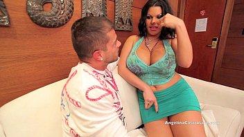 Big Titted Angelina Castro Fucks A Tourist!?