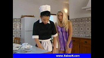 Sammy Jayne and her maid Sophie  Lesbian maid lesbi