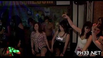 Whores watching strip