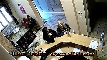 Solarium Cam Super Blondes Girl Masturbiert im www.solarium.tv