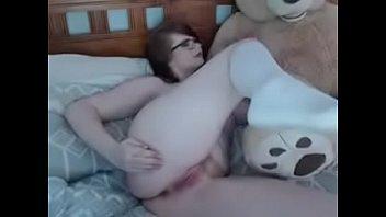 Chubby Redhead Masturbates Using Dildo On Cam more at camgirlreality dot com