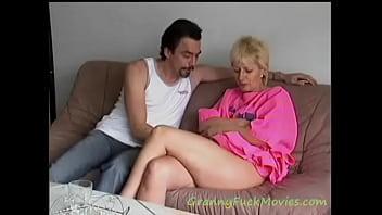 Hard pounding granny Mathilde