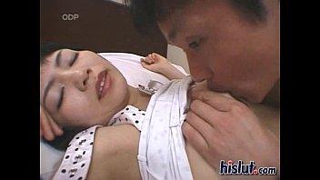 Yuka gets her facial