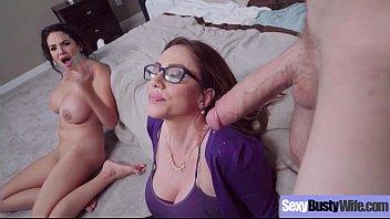 Sex On Tape In Hard Style Big Juggs Mommy (Ariella Ferrera &amp_ Missy Martinez) vid-06