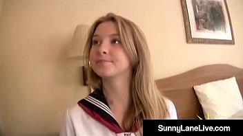 Stiff Asian Noodle Bangs US School Girl Sunny Lane! Thumb