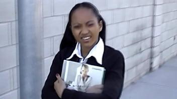 Young schoolgirl girl