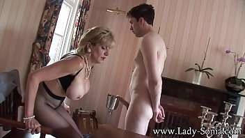 Lady Sonia Stable Boy Teased