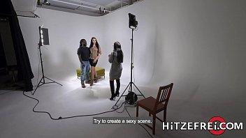 HITZEFREI Big tit German slut loves BBC