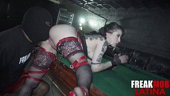 Cuban Slut gets Fucked in her Asshole