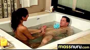 Lucky Client gets a Full Service Massage 24