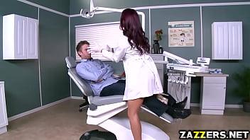 Danny D bangs her sexy Dentist Monique Alexander hard