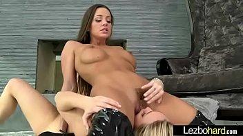 Teen Lesbians (Aj Applegate & Abigail Mac) Playing In Front Of Camera vid-03