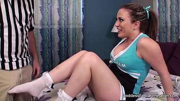 Cheerleader Blackmails Ref