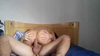 Big Ass Double Dildo Penetration