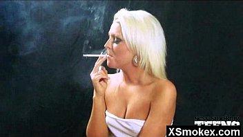Smoking fetish sex clips