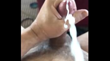 Big cock slomo cumshot