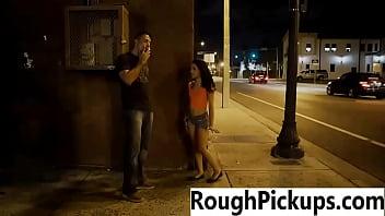 Brutal Pickups Public Sex