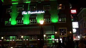 The Grasshopper in the City Center of Amsterdam