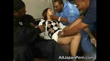 Японская девушка с большими сисками