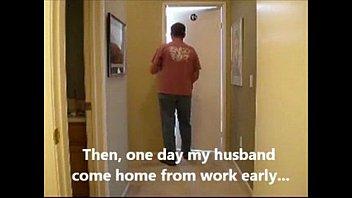 asian cuckold wife husband watching
