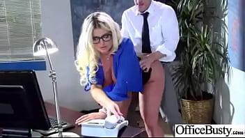 Slut Office Girl (julie cash) With Big Melon Tits Enjoy Hard Style Action movie-25 video
