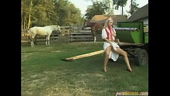 Порно на ферме два мужика