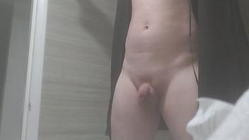 Humiliation on webcam, bi submissive peeing