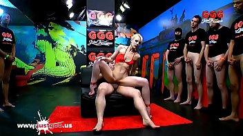 Skinny Super whore Ashlee Cox shared and glazed... | Video Make Love