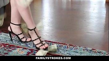 Cute step sis seduces bro with lapdance -HD on: