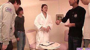 Ann Yabuki smashing scenes of severe group sex  - More at Slurpjp.com