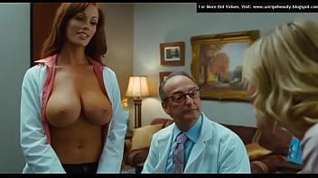 Christine Smith big nude boobs in Bad Teacher