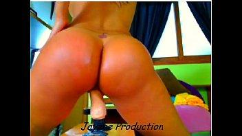 Latina Babe Riding Dildo...Part1