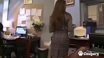 Rachel Roxxx Gets A Hard Fucking From Her Boss At Work
