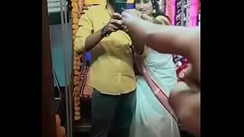 Hot Swathi naidu romantic and sexy first night short film making part-12