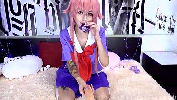 PURPLE BITCH &ndash_ OVA: TIGHT HOLES GETS A LOT OF CUM (yuno gasai)