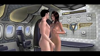 3D Plane sex session 2