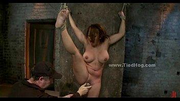 Busty sex slave bondage deepthroat