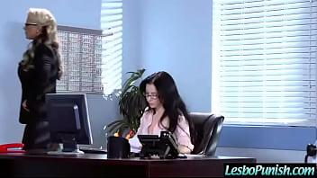 Lesbo Girls (abella & phoenix) In Hard Scene Punishing With Sex Toys movie-03