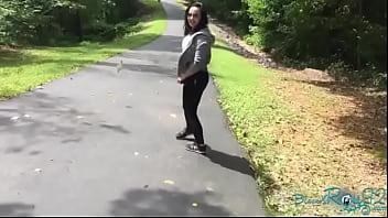 Public Hiking Trail Blowjob And Masturbation BlackxRose92