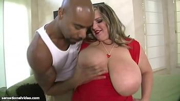 Big Tit BBW Slut Veronica Vaughn Gets Pussy Fucked By BBC