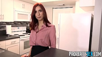 PropertySex - Hot redhead real estate agent fucks new boss
